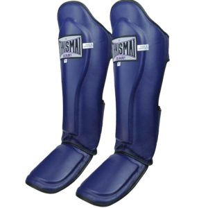 THAISMAI Authentic Leather with Double Foam Shin Guard