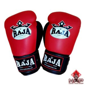 RAJA Triple Color Competition Gloves Authentic Leather
